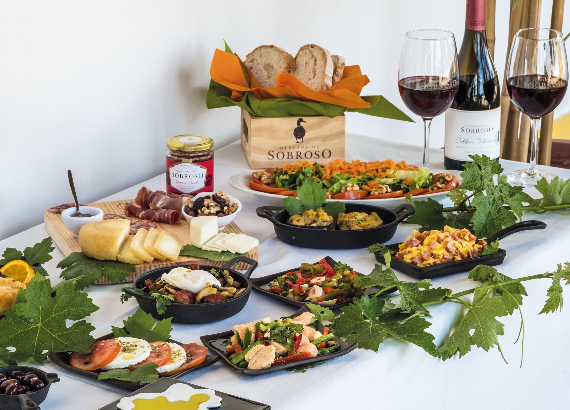 Herdade do Sobroso - Prova & Almoço Tradicional