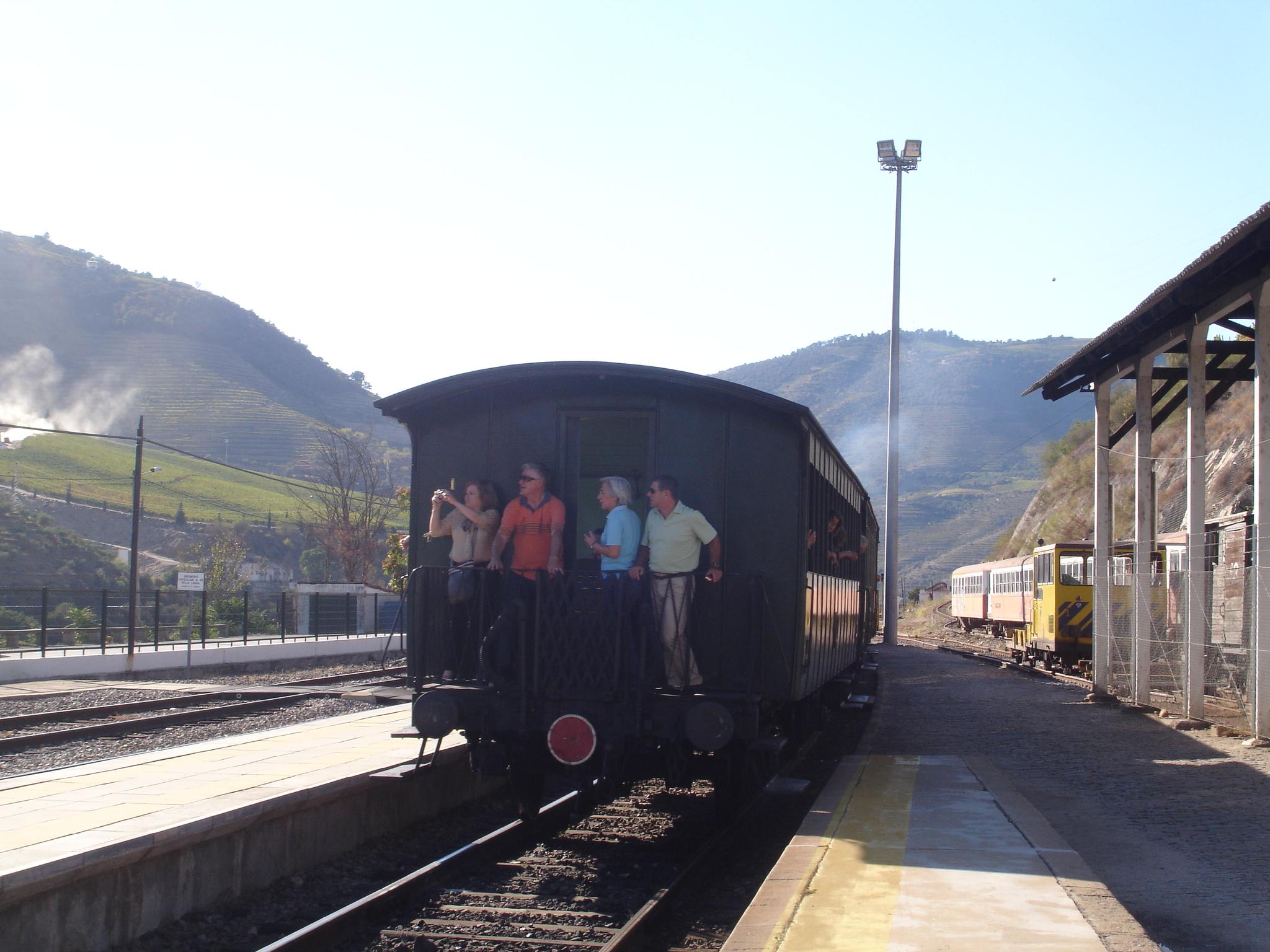 O Douro e o Comboio Histórico